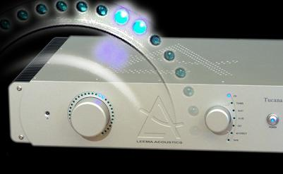 Oh, and it also had to be innovative and beautiful. Tucana was the result. On it's own, Tucana is a stunning stereo amplifier which will happily drive today's audiophile speakers in a stereo system. It is a dual mono design using three heavy-duty toroidal power transformers and has a refined bi-polar output stage. Using six output devices, each channel is capable of swinging over forty five amps of current, ensuring a vice like grip and precise control of the loudspeakers. A flexible set of inputs; a record output, full remote control and a sophisticated volume display complete the picture.