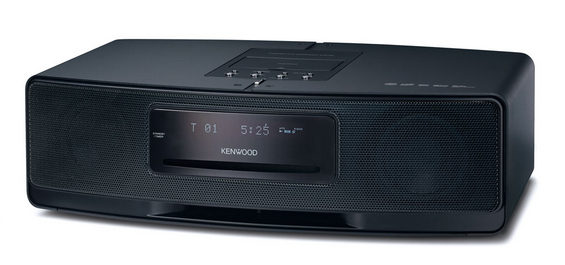 Kenwood K-525-BKCompact Hifi CD systeem