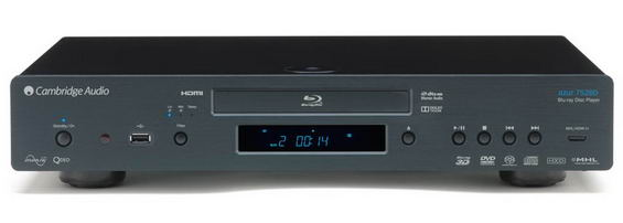Cambridge Audio Azur 752BD Universal Upsampling Blu-ray DVD en CD player