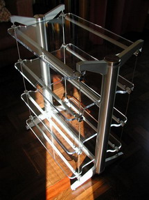 Stillpoints ESS audio rack.