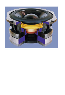 The ATC drivers come as a range of four units - 9inch, 12inch, 15inch (3inch voice coil) and 15inch (4inch voice coil). Each uses sophisticated design principles to lower radically the distortion levels considered normal in other designs. ATC voice coils are formed of edgewise-wound copper ribbon wire, wound on an aluminium or kapton former. This structure, together with the use of new, improved adhesive technology and small coil-gap clearances, allows extremely high power handling capacity, with excellent reliability. The diaphragms of all ATC drivers are moulded using the most accurate process available, and are then treated and impregnated to add strength and damping. We build high acoustic performance, with reliability, into every one.